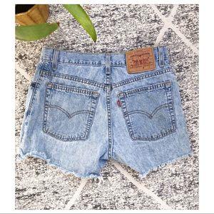 Levi's | Vintage High Waist Cutoff Shorts